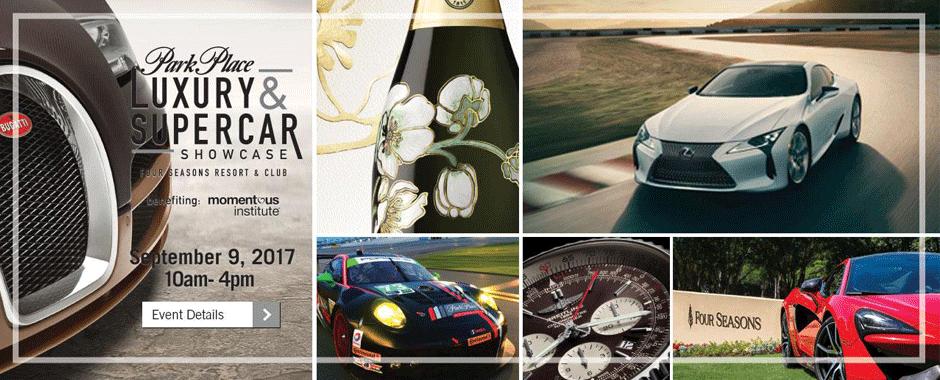 Luxury and Supercar Showcase