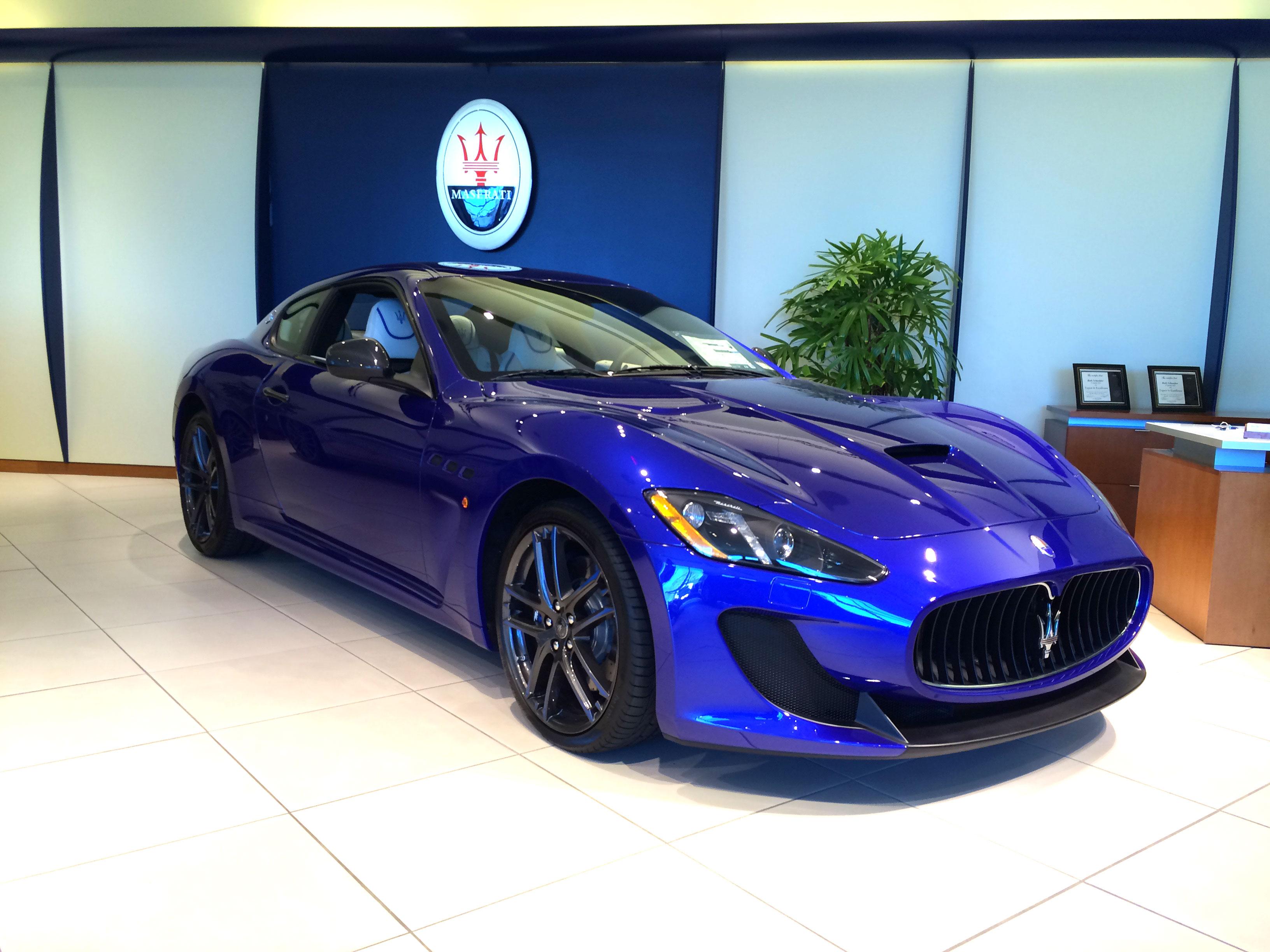 2017 Maserati Granturismo Mc Centennial Edition