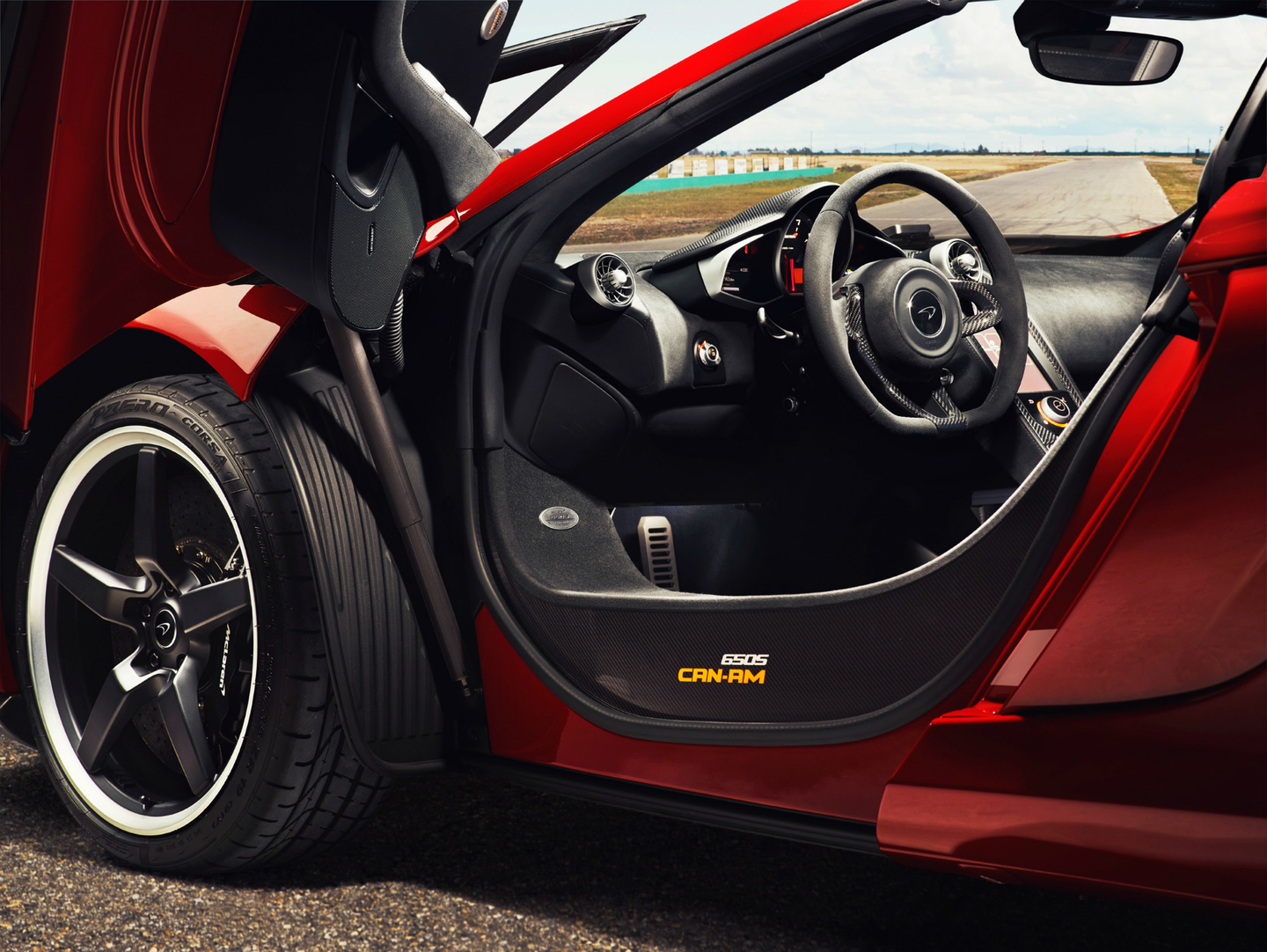 Mclaren Commemorates Can Am Racing With Limited Edition 650s Spider