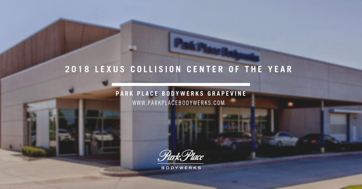 Park Place Lexus >> Park Place Bodywerks Earn Lexus Certified Collision Center
